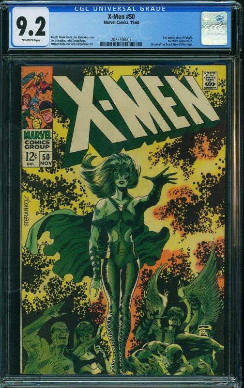 X-Men # 50 CGC 9.2