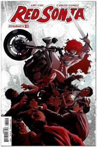 Red Sonja #3 Cvr A (Dynamite, 2017) NM