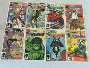 Web of Spider-Man lot 45 different from #2-49 avg 8.0 VF (1985-89)