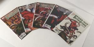 Spider-Man Doctor Octopus Negative Exposure 1-5 NM Near Mint Marvel A44