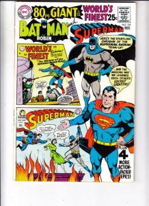 World's Finest #179 (Nov-68) FN/VF Mid-High-Grade Superman, Batman, Robin