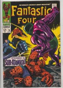 Fantastic Four #76 (Jul-68) NM- High-Grade Fantastic Four, Mr. Fantastic (Ree...