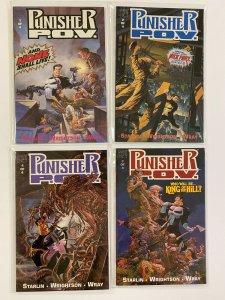 Punisher POV set #1-4 8.0 VF (1991)