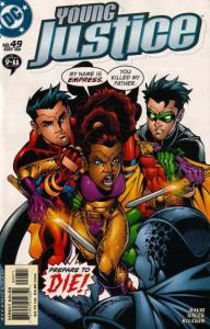 Young Justice (1998 series) #49, NM (Stock photo)