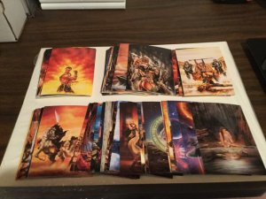 1993 From Fantasy To Reality Luis Royo 90 card set