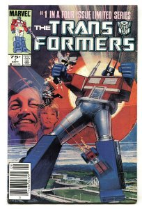 TRANSFORMERS #1 comic book 1984 -  First issue Marvel - NEWSSTAND