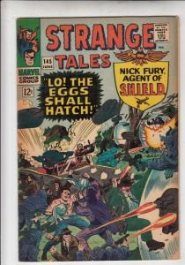 Strange Tales #145 (Jun-66) FN/VF Mid-High-Grade Nick Fury, S.H.I.E.L.D., Dr....