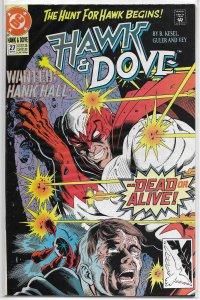 Hawk and Dove (vol. 2, 1989) #27 FN Kesel, Guler