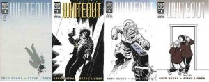 WHITEOUT (1998 ONI) 1-4  Rucka & Lieber  COMPLETE!