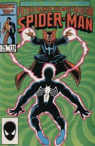 Spectacular Spider-Man, The #115 VF/NM; Marvel | save on shipping - details insi