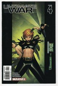 Ultimate War #4 April 2003 Marvel