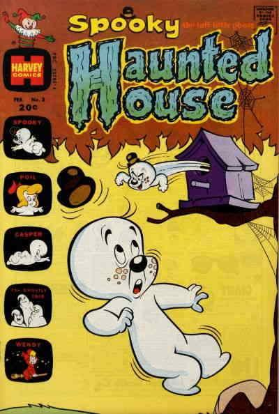 Spooky Haunted House #3 VG; Harvey | low grade comic - save on shipping - detail