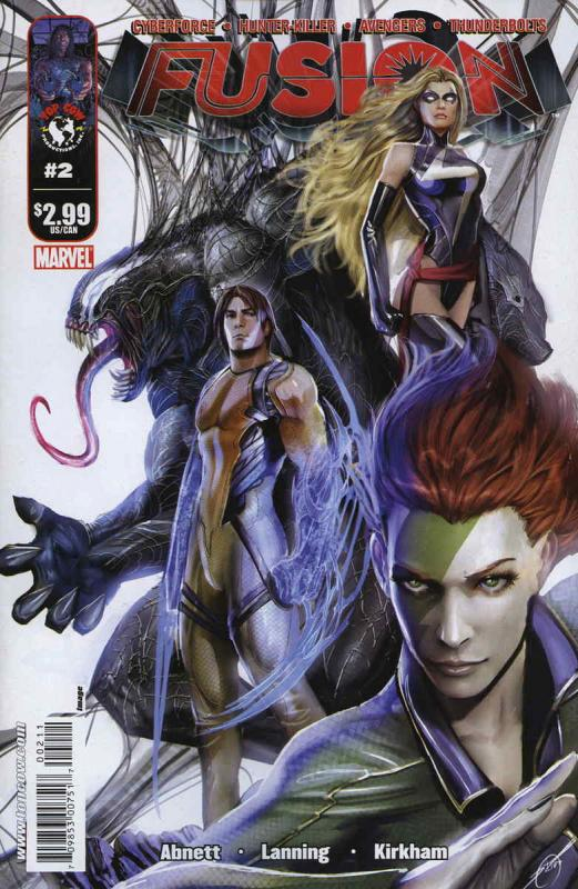 Fusion (Image) #2 VF/NM; Image | save on shipping - details inside
