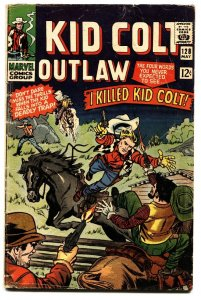 KID COLT OUTLAW #128- comic book MARVEL WESTERN