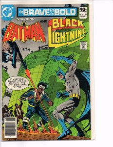DC Comics The Brave and the Bold #163 batman and Black Lightning Jim Aparo Art