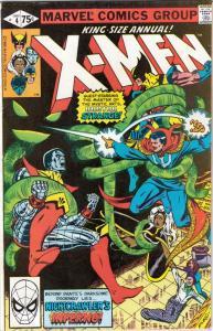 X-Men King-Size #4 (Jan-80) NM- High-Grade X-Men