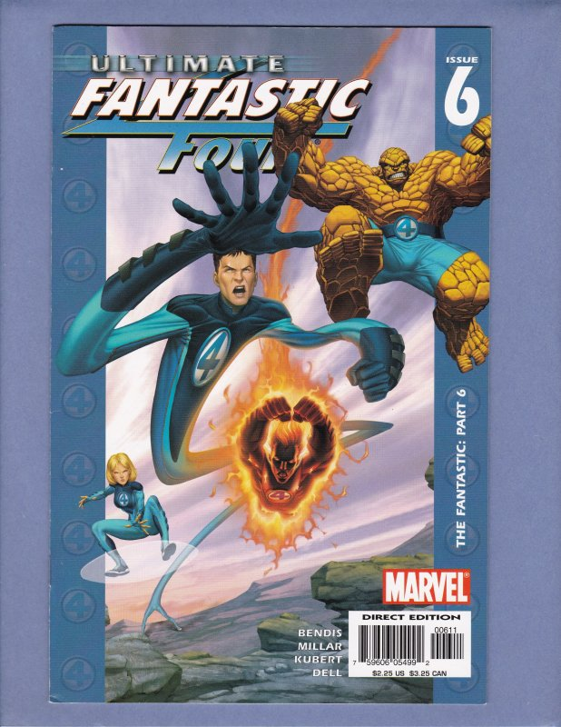 Ultimate Fantastic Four #1 2 3 4 5 6 7 8 9 10 11 12 Marvel