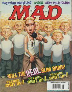 MAD MAGAZINE #406 - HUMOR COMIC MAGAZINE