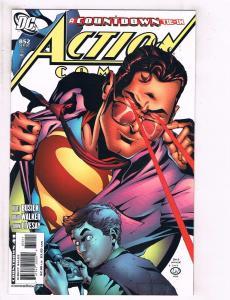 Lot of 3 Action Comics DC Comic Books #852 853 854 Superman J127