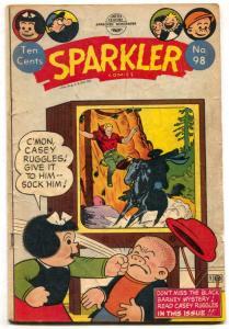 Sparkler #98 1951- Golden Age- Nancy- Captain & the Kids