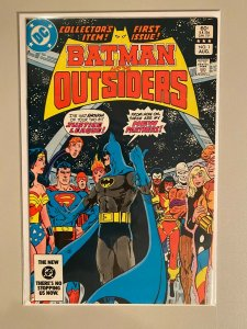 Batman and the Outsiders #1 4.0 VG (1983 1st Series)