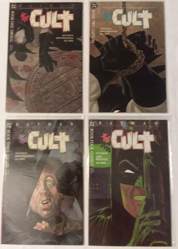 Batman  : The Cult   #1-4 (complete set)