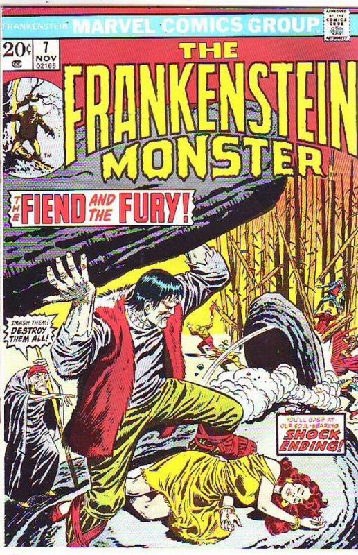 Frankenstein, the Monster of #7 (Nov-73) NM- High-Grade Frankenstein