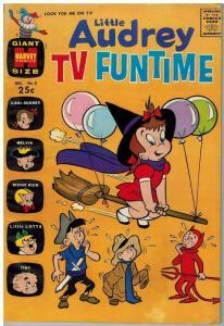 LITTLE AUDREY TV FUNTIME (1962-1971) 2 VG Dec. 1962 COMICS BOOK