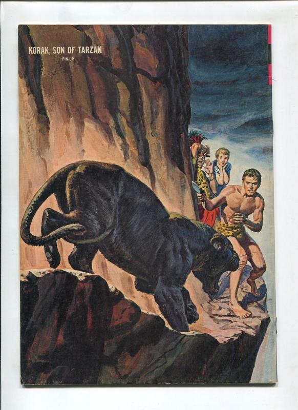 KORAK SON OF TARZAN #4 1964-GOLD KEY-RUSS MANNING-FN/VF