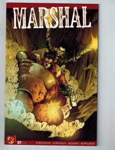 Marshal # 1 Dabel Brothers Personal Collection Marvel Comic Book Tortolini Ser.