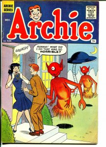 Archie #124-Betty-Veronica-alien flying saucer cover-early 12¢ issue-VG+