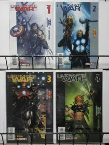 ULTIMATE WAR (2003) 1-4  complete series!