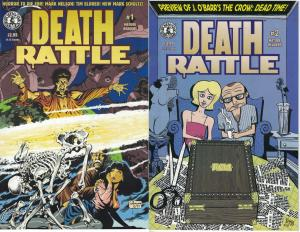 Death Rattle (Vol. 3 1995) Horror Anthology 1 and 2 Mark Schultz Nelson Eldred