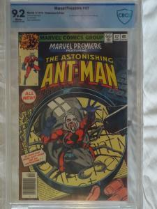Marvel Premiere #47 - CBCS 9.2 - 1st Scott Lang as Ant Man