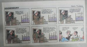 (52) Doonesbury Sundays by GB Trudeau from 1-12,1986 Size: 7.5 x 13 inches