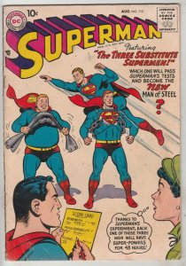 Superman #115 (Aug-57) FN/VF Mid-High-Grade Superman