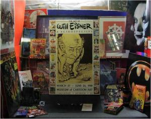 WILL EISNER ART RETROSPECTIVE POSTERx3 WHOLESALE!