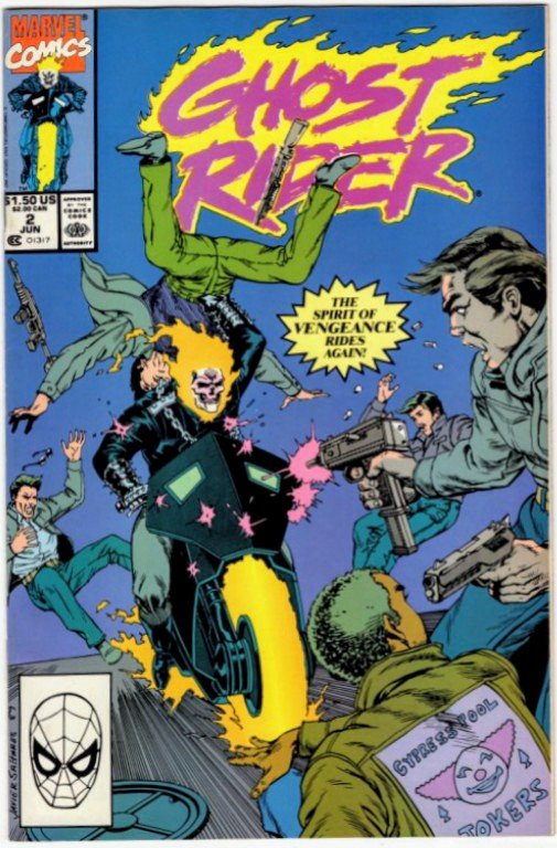GHOST RIDER #2 (VF/NM) No Resv! 1¢ Auction! See More!!!