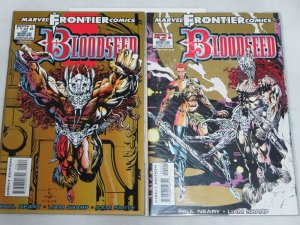BLOODSEED (1993 MARVEL) 1-2 complete set
