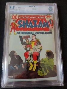 SHAZAM #6 CBCS 8.5