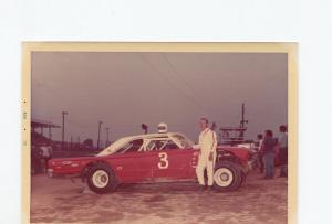 Wayne Gimble-Color Photo-1970's-1957 Chevrolet-Stock Car-VG