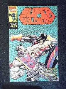 Super Soldiers (UK) #3 (1993)