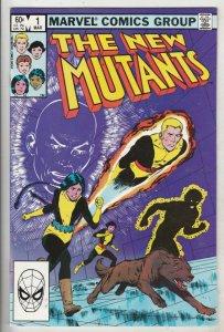 New Mutants #1 (Mar-83) NM+ Super-High-Grade New Mutants (Cannonball, Sunspot...