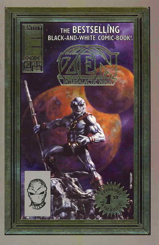 Zen Intergalactic Ninja (6th Series) #0 VF/NM; Entity | save on shipping - detai