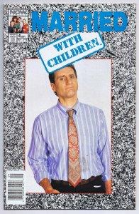 Married With Children #4 ORIGINAL Vintage 1990 Now Comics Ed O'Neill Al Bundy