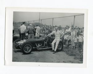 Billy Hughes-Photo-URC Sprint Car-Portrait-O'Day Special-VG