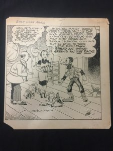 Ed Dodd Back Home Again Original Newspaper Comic Art 12/9/38