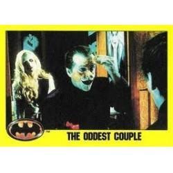 1989 Batman The Movie Series 2 Topps THE ODDEST COUPLE #157