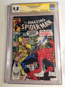 CGC 9.8 SS Amazing Spider-Man #246 signed by John Travolta cameo appearance