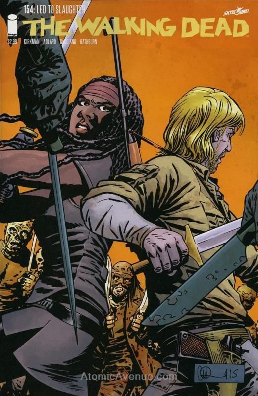 Walking Dead, The (Image) #154 VF/NM; Image | save on shipping - details inside